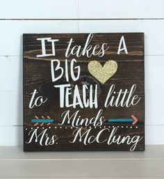 Hey, I found this really awesome Etsy listing at https://www.etsy.com/listing/263339850/teacher-wood-sign-teacher-appreciation