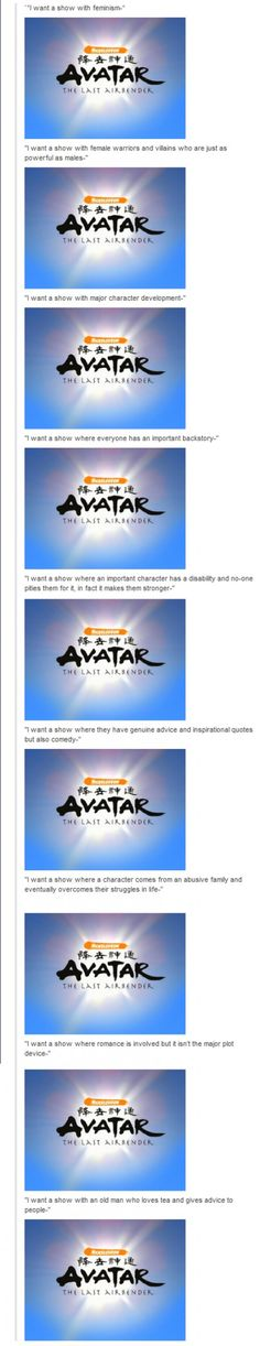 AVATAR HAS EVERYTHING!!!