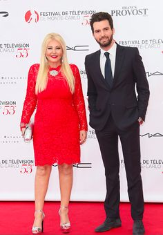 Andrea Iervolino and Monika Bacardi at the Opening Ceremony of TV Festival Monte Carlo 2015!