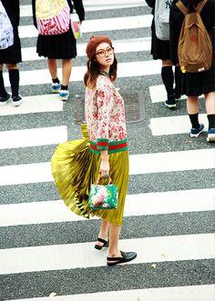 Gucci Resort 2016   GUCCI TOKYO Rhapsody 森星×グッチと巡る、ガールな東京ラプソディ   VOGUE GIRL