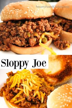 No high fructose corn syrup in this old fashioned, homemade Sloppy Joe recipe! Quick weeknight dinner and easy recipe! Vegan Sloppy Joes, Sloppy Joe Sauce, Sloppy Joes Recipe, Homemade Sloppy Joe Recipe, Homemade Sloppy Joes, Easy Recipes For Beginners, Cooking For Beginners, Quick Weeknight Dinners, Quick Meals