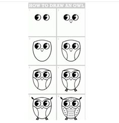 How to drawl an owl