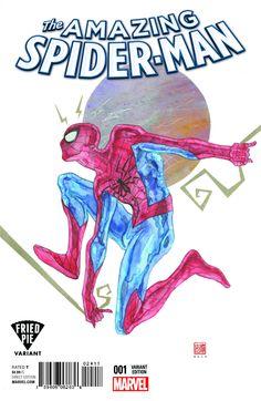 Amazing Spider-Man Publisher: Marvel Release Date: Cover Artist: David Mack Comic Books For Sale, Comic Books Art, Book Art, Marvel Release Dates, David Mack, Fried Pies, Comic Book Covers, Amazing Spider, Breaking Bad