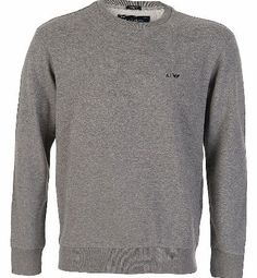 Armani Jeans Chest Logo Sweatshirt Marl Grey Armani Jeans Chest Logo Sweatshirt Marl Grey features branding embroidered onto the chest with ribbed hem and cuffs with crew neck design. Matching item avaliable Colour: Marl Grey Fabric: 100% Cotton http://www.comparestoreprices.co.uk/designer-sweatshirts/armani-jeans-chest-logo-sweatshirt-marl-grey.asp
