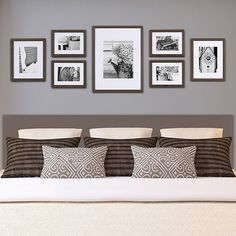 Buy Gallery Perfect Frame Set, Walnut Online at johnlewis.com