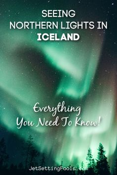 Seeing the Northern Lights in Iceland was at the top of our list for our trip and on our last night, the chase was on! Iceland Travel Tips, Europe Travel Tips, European Travel, Travel Guides, European Destination, Travel Articles, Travel Destinations, Budget Travel, See The Northern Lights