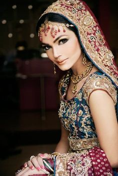 #Indian #Wedding #Jewellery - Beautiful  http://www.bargainweddingstore.com