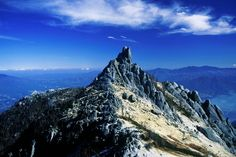 無駄にカッコ良すぎ日本百名山の山名ランキング 2位剱岳