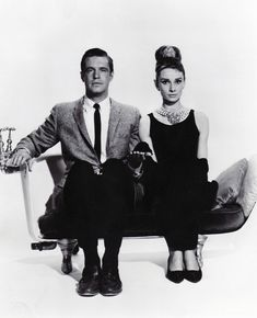 Better together. Audrey Hepburn & George Peppard in Breakfast at Tiffany's, 1961