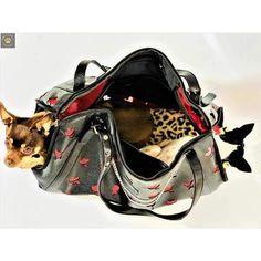 1e08fc6aa Mystere Satchel Dog Carrier - JCLA Diamond Cut Deluxe l Doggie Diva