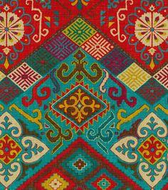 "Waverly Print Fabric 54""-Ute Mountain/Gem"