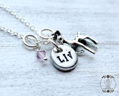 HandStamped Fawn Children's Necklace with by ThePoshDaisy11, $18.00