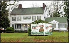Larison's Turkey Farm with food served family style in Chester, NJ - Google Search