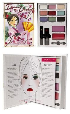 """Many of the colors from the Mulan and Ariel palettes work well for TW    Disney """"Dare to Dream"""" collection by e.l.f."""