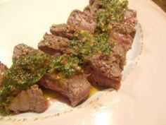 Grilled Beef with Chimichurri