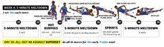 Week #4 -5 Minute Meltdown Ab Workout