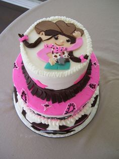 cute Cowgirl Cake