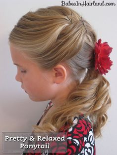 Try with fabric covered botton bobby pins and ponytail holder