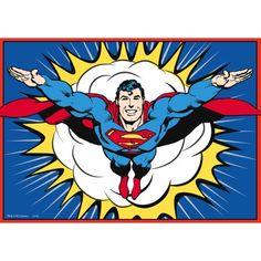 Superman A4 Edible Image www.partyzone.com.au
