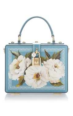 Peonies Box Bag by DOLCE & GABBANA for Preorder on Moda Operandi