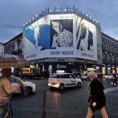 Antony Morato - Catania - Via Etnea #antonymorato #abbigliamento #abbigliamentouomo #uomo #moda #fashion #italia #catania #adv #upgrademedia www.upgrademedia.it