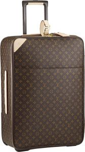 for some reason it has always been a dream to have Louis Vuitton luggage. ONE DAY