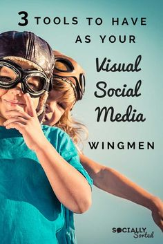 3 Visual Social Media Tools You Need as Your Wingmen Social Media Content, Social Media Tips, Social Media Marketing, Content Marketing, Marketing Tools, Digital Marketing, Social Media Company, Digital Strategy, Public Relations