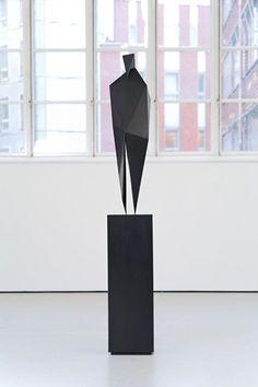 David (Faceted) by Xavier Veilhan. Contemporary Sculpture, Contemporary Art, Xavier Veilhan, Sculpture Metal, Sculptures Céramiques, Public Art, Installation Art, Design Art, Illustration Art