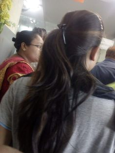 Long Ponytail Hairstyles, Long Hair Ponytail, Long Ponytails, Indian Hairstyles, Girl Hairstyles, Long Silky Hair, Long Black Hair, Thick Hair, Beautiful Girl Indian