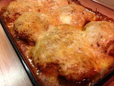 Garden Chicken - looks delicious with tomatoes, garlic, fresh herbs and cream sauce, parm and mozzarella cheeses.