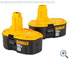 FREE FYI Tutorial on, how to fix your old dewalt batteries, electrical, lighting. Are your dewalt batteries dead like mine? Cool Tools, Diy Tools, Cordless Tools, Cordless Drill Batteries, Power Tool Batteries, Garage Tools, Do It Yourself Home, Tool Storage, Lumber Storage