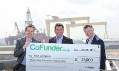 Local company @Co_Funder to help stimulate economy through 'crowdfunding'