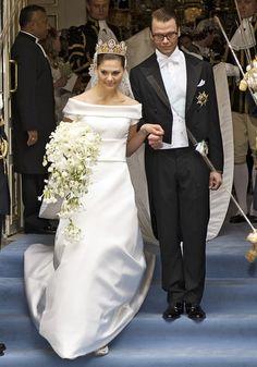 Crown Princess Victoria of Sweden, Duchess of Västergötland and Daniel Westling married June 19, 2010