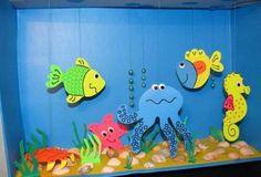 * Vissen in de zee...