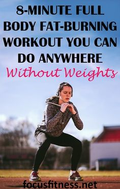 Full Body Workout Melts Stubborn Fat without Weights - Focus Fitness Kettlebell Training, Crossfit Kettlebell, Kettlebell Benefits, Circuit Training, Weight Training, 8 Minute Workout, Most Effective Ab Workouts, Best Full Body Workout, Workout Warm Up