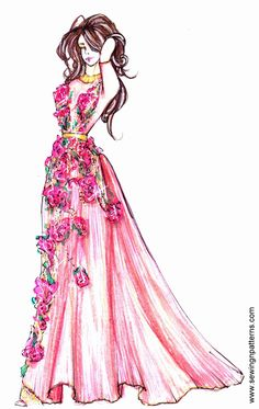 How to present fashion sketches to reach more people and get better likes