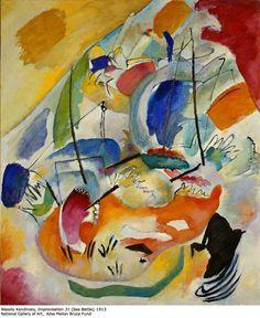 improvisation 31 by kandinsky