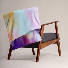 Vibrant Colour Unique Throw Blanket Home Decor Gift Design Ptint Soft Silk Touch Sofa Bed Big