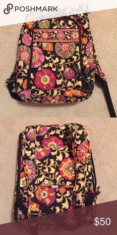 Vera Bradley suzani backpack Barely used! Vera Bradley Bags Backpacks