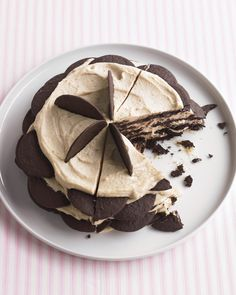 Chocolate Peanut-Butter Icebox Cake   Martha Stewart Living - This…