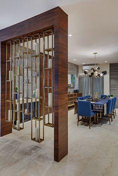 Living Room Partition Design, Living Room Divider, Room Partition Designs, Design Living Room, Home Room Design, House Design, Home Decor Furniture, Home Decor Bedroom, Design Apartment