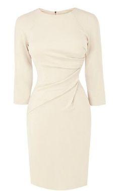Karen Millen Draped Front Jersey Dress