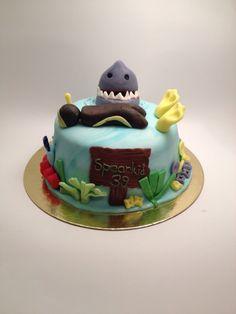 spearfishing  spearkid  happy bd cake!!!