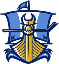Jamestown Vikings Secondary Logo (2008) -