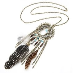 bohemian Jewelry | Vintage Bohemian Style Boho Necklace