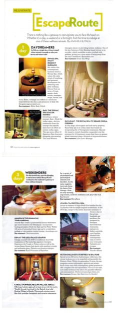 Vogue India, Wellness, Group, Places, Lugares