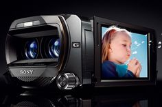 Sony 3D Camcorder