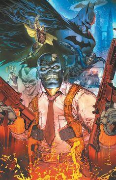 Batman takes on Black Mask Comic Villains, Comic Book Characters, Comic Character, Comic Books Art, Comic Art, Book Art, Im Batman, Batman Arkham, Batman Comics