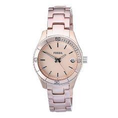Fossil feminine watch <3.