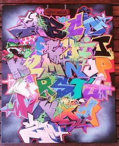 Graffiti Letter T, Graffiti Lettering Alphabet, Graffiti Text, Graffiti Pictures, Graffiti Writing, Graffiti Tagging, Street Art Graffiti, Tag Street Art, Graffiti Designs